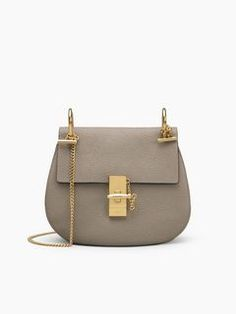 The sensuality of this Shoulder Bag is emphasised by the curved saddle  shape and soft leather fabric. Shop this bag that will give a Chloé touch  to every ... b600c3930a6e6