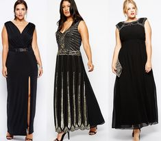 6cfcf5fca55 30 Plus Size Formal Evening Dresses for the Holidays. Plus Size Fashion  BlogCurvy ...