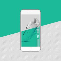 mi adidas app design on Behance