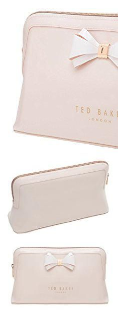 Ted Baker Pink Makeup Bag. Ted Baker London Abbie Curved Bow Cosmetic  Travel Wash Bag 08e6a640c4fa6