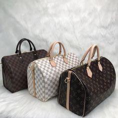 Louis Vuitton Bandoulier Speedy Bag – World Leather Design Louis Vuitton Handbags 2017, Louis Vuitton Speedy 30, Louis Vuitton Damier, Leather Design, Luxury Bags, Bag Sale, Handbag Accessories, Monogram, Purses