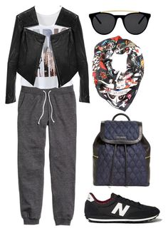 """""""sport"""" by yourselffashion ❤ liked on Polyvore featuring H&M, Dsquared2, Smoke & Mirrors, Vera Bradley, Abercrombie & Fitch and Linea Pelle"""