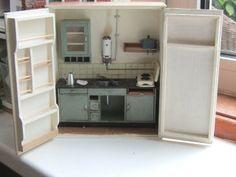 keuken in een kast