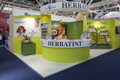 Lo stand di Herbatint a Cosmoprof Worldwide Bologna nel 2013