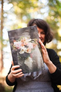 Encaustic Process, Meredith of Wax and Pixels in her studio, Occidental, California | Wine Country Wedding Photography