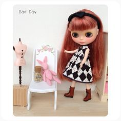 Blythe dolls are so precious with their unique individual expressions & they are adorable