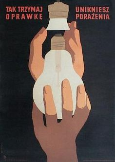 designer: Swierzy Waldemar poster title: Tak trzymaj oprawke unikniesz porazenia year of poster: 1955 Historic Posters, Polish Posters, Poland, Graphic Design, Drawings, Fun, Image, Historia, Poster