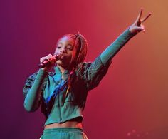 Willow Smith takes the stage in Dublin