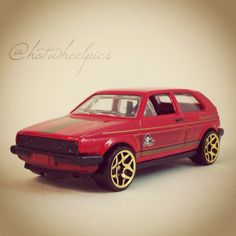 "Volkswagen Golf - 2014 Hot Wheels ""Holiday Hot Rods"" #hotwheels   #diecast   #toys   #Volkswagen   #VW   #Christmas"
