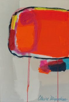 """""""Abbreviation"""" by Claire Desjardins – 20″x30″ – Acrylics on canvas"""