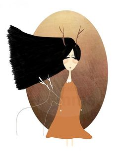 mimma / Oh Deer digitálna ilustrácia
