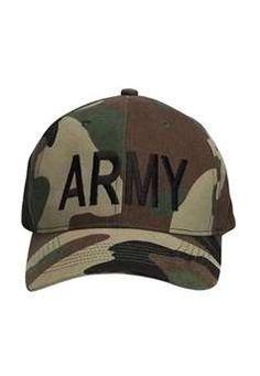 Camo Army Supreme Low Profile Insignia Cap ! Buy Now at gorillasurplus.com