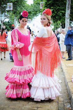 Flamencas, Feria de Abril