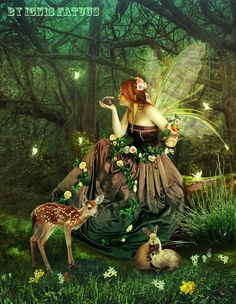 In the Magic Forest. by IgnisFatuusII.deviantart.com on @deviantART