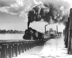 MoPac R.R. / Missouri-Illinois Railroad I SCREAMING EAGLES   Missouri and Illinois Rail Line Had Stormy Career From Start  Phil Eydmann, Who Operated First Engine, Tells Story of Road's Construction and Later Difficulties
