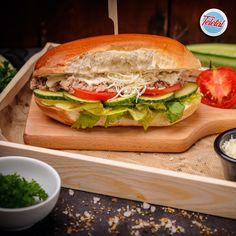 #streetfood #burger #ceasar #tuna #food #fooddelivery #teletal Tuna Food, Salmon Burgers, Street Food, Chicken, Ethnic Recipes, Cubs
