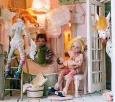 BBFlocking dolls