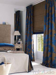 #brąz #brązowy #brown #wnętrze #salon #dekoracje #brązowasypialnia #dekoracjewnętrz #interior #wnetrza #kanapa #sofa #jadalnia #livingroom #aranżacja #architekt #mkstudio #tkaniny #rolety #blinds #romanblinds #sypialnia #bed #bedroom >> http://www.mkstudio.waw.pl/systemy-wewnetrzne/zaslony-rzymskie/