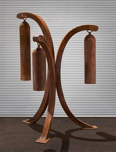 Sound Tree, a contemporary outdoor sound sculpture - Kevin Caron