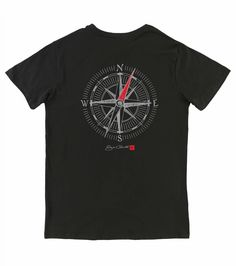 Staged zoom image for O'Neill JACK O'NEILL TRUE NORTH TEE - BLACK - Image 1
