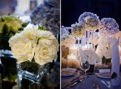Flowers and Décor by Wishing Tree. www.theweddingnotebook.com