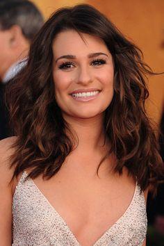Lea Michele Hair color