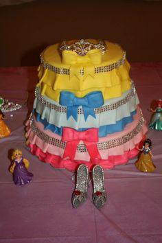 princess baby shower cake!!!!