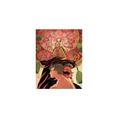 NOVICA Expressionist Oil Painting 338 liked on Polyvore