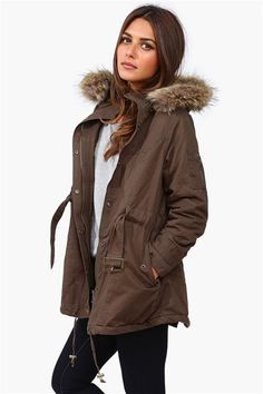 Bleeker Fur Hooded Jacket - Parkas are a must have for Fall!