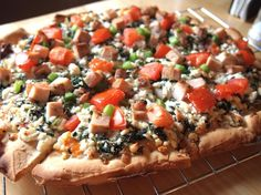 """thin, GF pizza crust - this is our """"go to"""" crust these days.  Even the hubs likes it (and he loves his gluten)."""