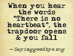 Yes I've heard those words twice