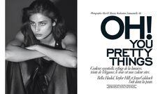 Taylor Hill et Bella Hadid, le tandem de tops américains qui affole les réseaux sociaux à chaque selfie incendiaire, prend la pose en couverture de cette édition sublimant toutes les nuances d'un noir toujours plus magnétique. En kiosque le 24 août prochain.