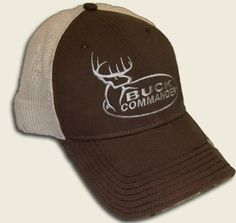 Amazon.com   BUCK COMMANDER Men s Orange Mesh Hat   Sports   Outdoors 78b60ca034ee