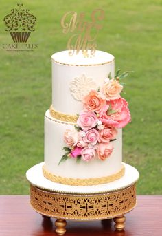 Coral Bliss - Cake by Meenal Rai Shejwar