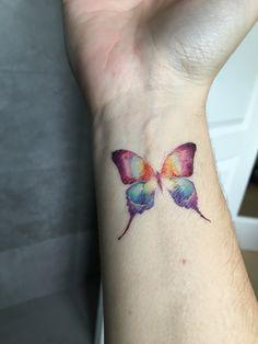 Pin by jessica meseroll on tattoos Best Friend Tattoos, Mom Tattoos, Wrist Tattoos, Cute Tattoos, Body Art Tattoos, Small Tattoos, Tatoos, Remembrance Tattoos, Aquarell Tattoo