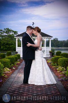 Kelly and John at Farmstead.  #farmstead #gazebo #wedding #mrandmrs #justmarried #weddingday #happycouple #aziccardi #anthonyziccardistudios