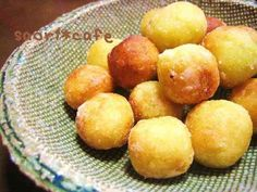 Sweet Potato with Sugar & Butter 簡単♪さつまいもシュガーバターのモチモチ Easy Sweets, Homemade Sweets, Sweets Recipes, Cooking Recipes, Donuts, My Favorite Food, Favorite Recipes, Asian Desserts, Cafe Food