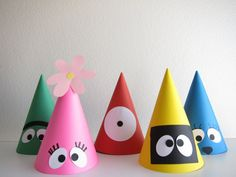 Yo Gabba Gabba! Party Hat Idea