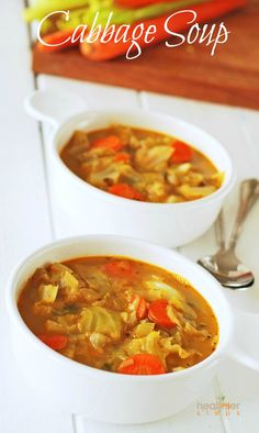Make delicious cabbage soup for St. Patrick's Day!