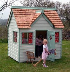 children's wood playhouses | Otter Cottage Wooden Playhouse