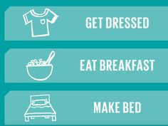 Getting ready for back-to-school? Check off your morning to-do list with this handy printable.