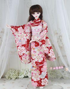 Kimonos 1/6, 1/4, 1/3 - Taobao Ball Jointed Dolls, Kimono Top, Tops, Women, Fashion, Kimonos, Moda, Fashion Styles, Fashion Illustrations