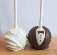 cute cake pops, possible edible toppers?