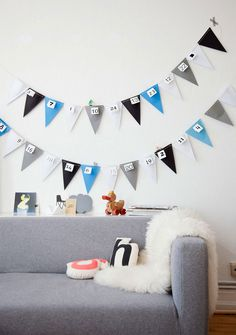 Don't settle for store-bought advent calendars this year. Check out these DIY Christmas advent calendars and do things your own way. Christmas Calendar, Noel Christmas, Christmas Countdown, Christmas And New Year, Christmas Crafts, Xmas, Christmas Decorations, Christmas Tables, Nordic Christmas