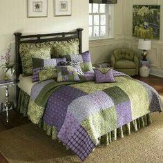 Bedrooms Purple Bedroom Green Bedding Colors Guest