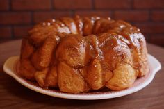 Drunken Monkey Bread with Stone Smoked Porter w/Vanilla Bean © Food ...