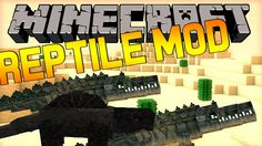 Minecraft Reptile Mod 1.12.1/1.11.2  Download