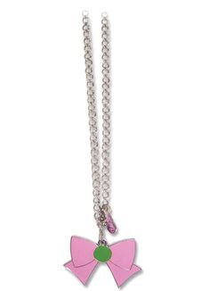 New official Sailor Jupiter Ribbon Necklace! More info and shopping links here http://www.moonkitty.net/reviews-buy-sailor-moon-jewelry.php