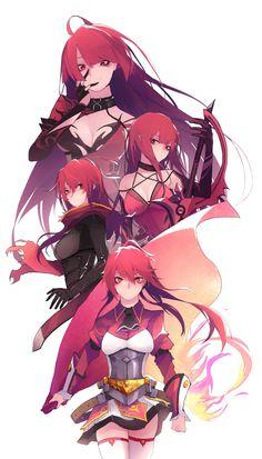 [Elsword] Elesis Line 3 Female Character Design, Character Concept, Character Art, Wallpaper Animes, Animes Wallpapers, Chica Anime Manga, Manga Girl, Fantasy Girl, Fantasy Characters