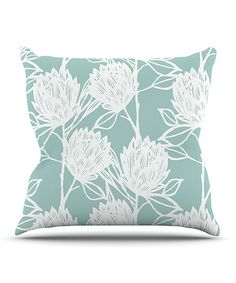 Another great find on #zulily! Protea Throw Pillow by KESS Inhouse #zulilyfinds